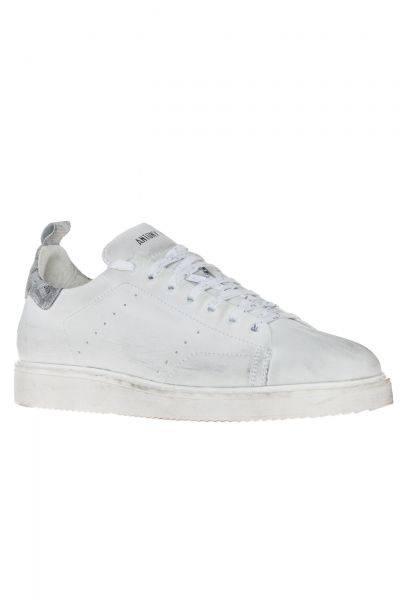 Sneaker Low White in Weiß