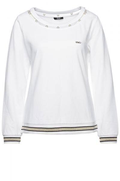 Sweatshirt Chiusa/Debora in Weiß