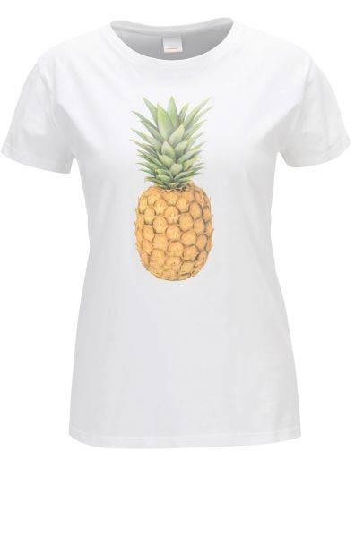 T-Shirt Tananas in Weiß
