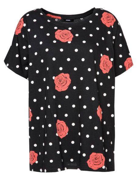 T-Shirt T-Hanna-AI in Schwarz