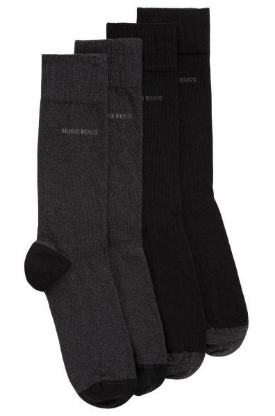 Zweier-Pack Socken 2P RS Heel&Toe CC in Schwarz