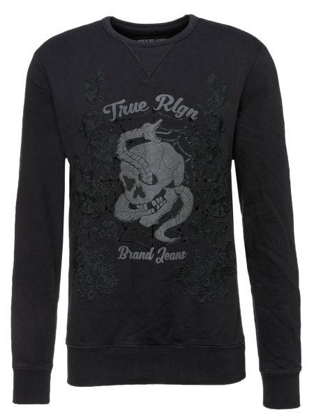 Sweatshirt Crew Sweat Flower in Rosa