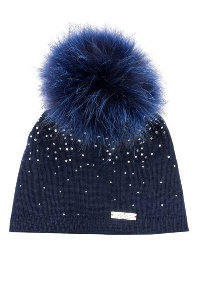 Mütze in Blau