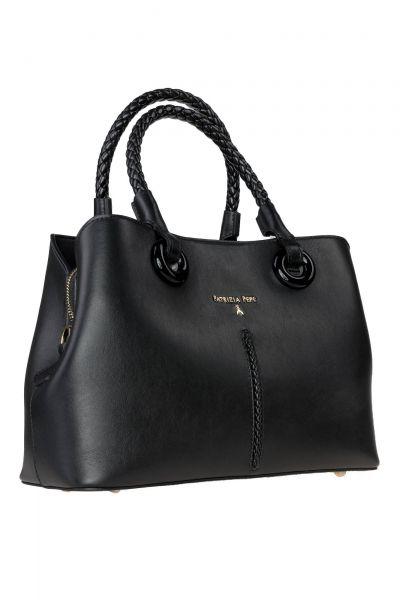 Handtasche Borsa in Schwarz
