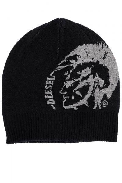 Mütze K-Grafiss in Schwarz
