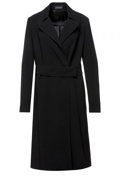 Mantel Centa in Schwarz