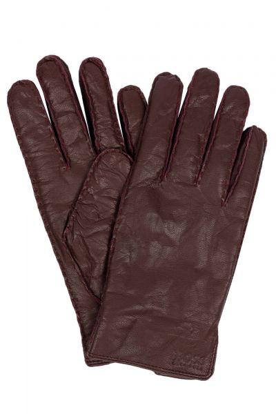 Handschuhe Kranton in Dunkelrot